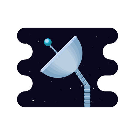 space satellite isolated icon vector illustration design Stock Vector - 124384648