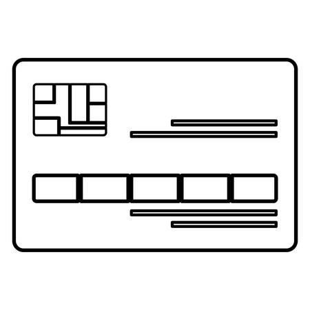 credit card ecommerce icon vector illustration design