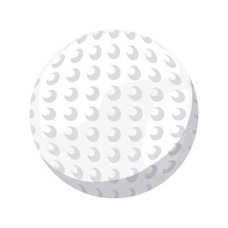 golf ball sport vector illustration design graphic