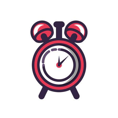 alarm clock isolated icon vector illustration design Reklamní fotografie - 127870423