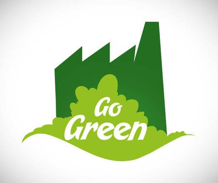 Go green digital design