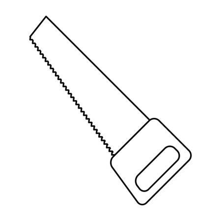 saw icon tool vector illustration design image