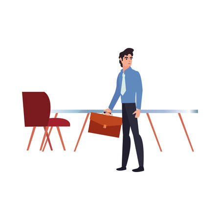 business people office labour day vector illustration