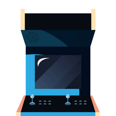 arcade machine video game retro vector illustration design Foto de archivo - 129254266