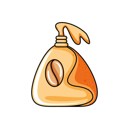bag with grains coffee vector illustration design Ilustração