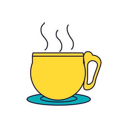 tea cup drink icon vector illustration design