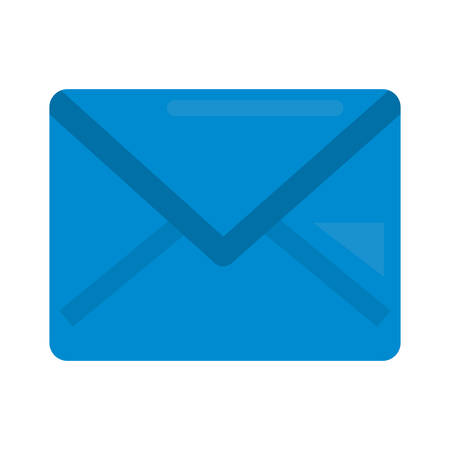 email envelope message communication icon vector illustration