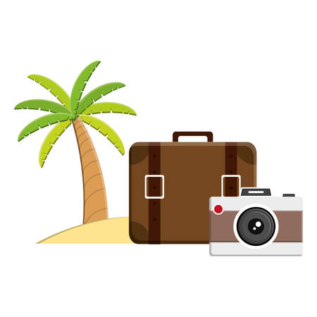 suitcase travel vacations icon vector illustration design Фото со стока - 129395862