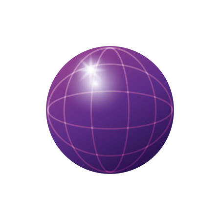 sphere planet browser icon vector illustration design 写真素材 - 129400024