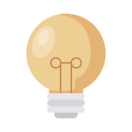 light bulb isolated icon vector illustration design Imagens - 129478580