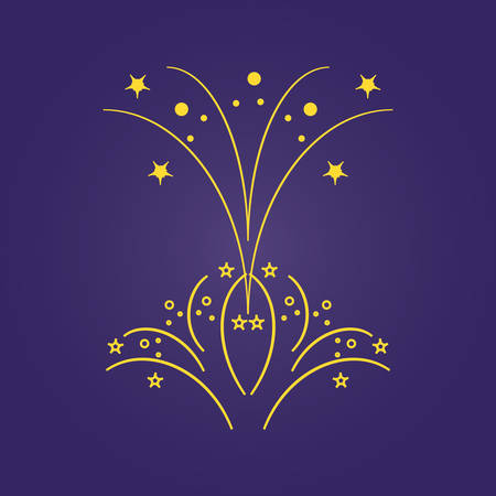 stars splashing decorative icon vector illustration design Illusztráció