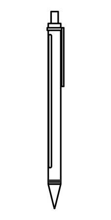 pen ink write icon vector illustration design