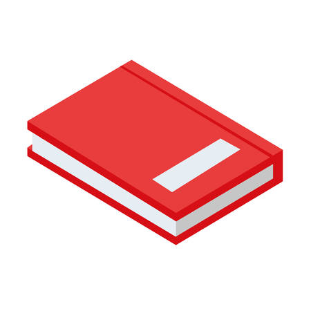 text book isolated icon vector illustration design Çizim