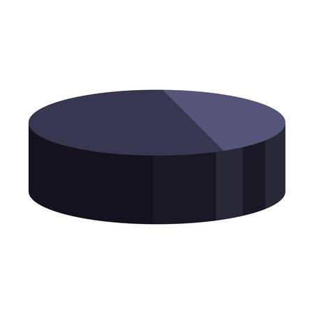 hockey puck icon game vector illustration design graphic Illusztráció