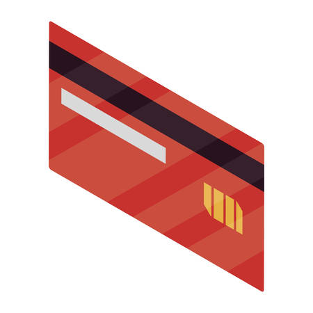 credit card isolated icon vector illustration design Stock fotó - 129806940