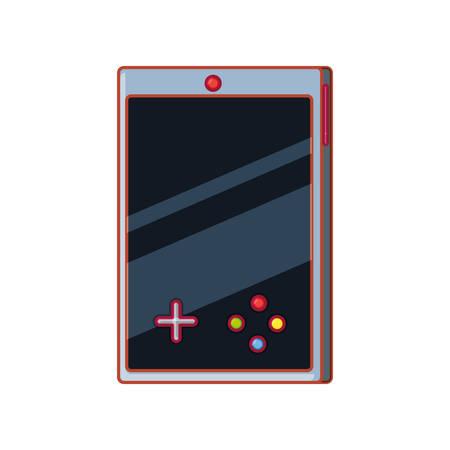 video game handle console vector illustration design Illusztráció
