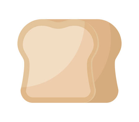 delicious bread isolated icon vector illustration design