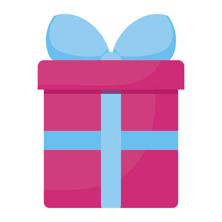 gift box present icon vector illustration design Ilustrace