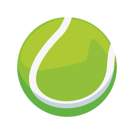 tennis ball sport vector illustration design graphic Иллюстрация
