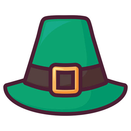 st patricks leprechaun hat vector illustration design 写真素材 - 129930976