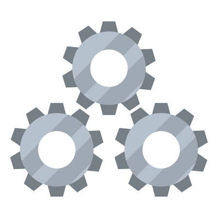 gears cogwheel tool vector illustration design image Иллюстрация