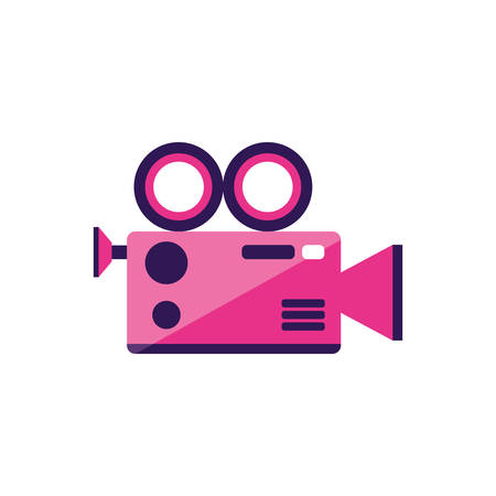 video camera app icon vector illustration design