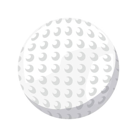 golf ball sport vector illustration design graphic