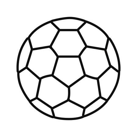 soccer ball sport vector illustration design graphic