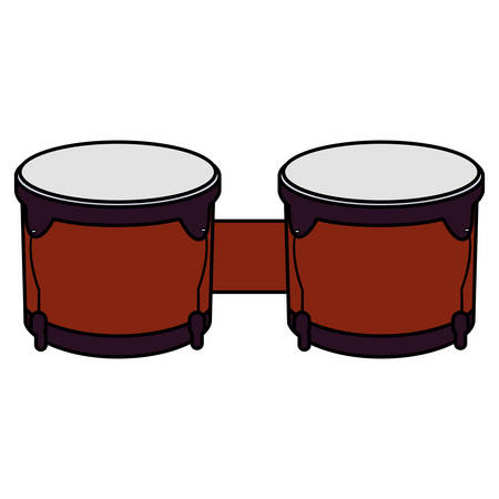 timbal instrument musical icon vector illustration design Illusztráció