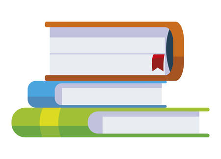 pile text books icons vector illustration design Иллюстрация