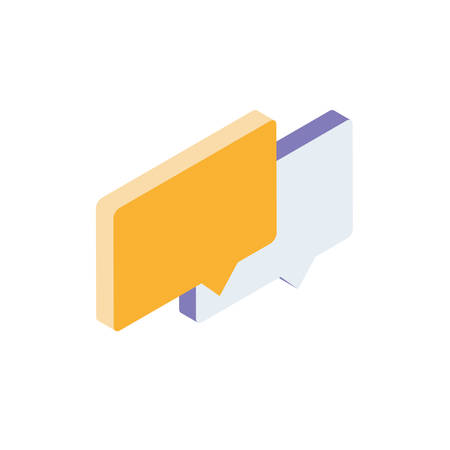 speech bubble message icon vector illustration design Иллюстрация