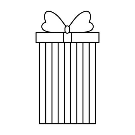 gift box present icon vector illustration design Imagens - 130157405