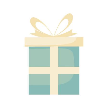 gift box present icon vector illustration design Imagens - 130157414