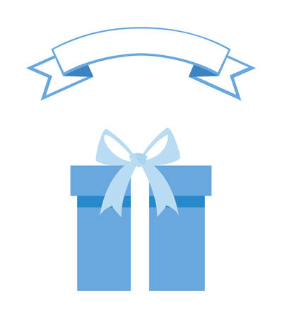 gift box present icon vector illustration design Imagens - 130157770