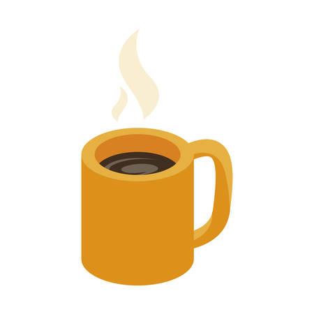 coffee cup drink icon vector illustration design