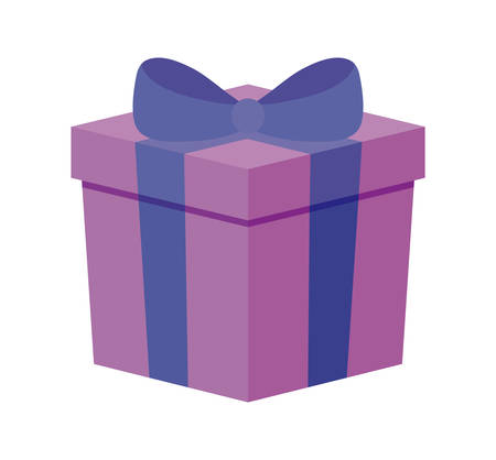 gift box present icon vector illustration design Imagens - 130158096
