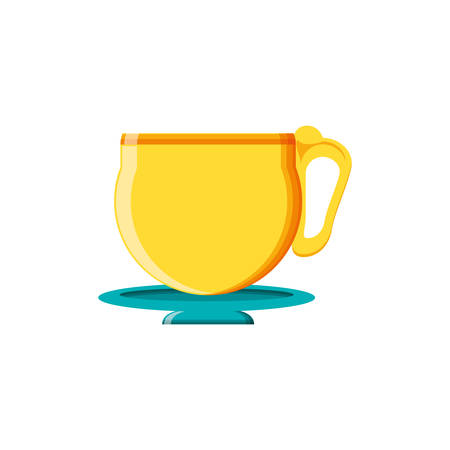 tea cup drink icon vector illustration design