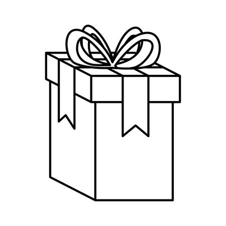 gift box present icon vector illustration design Ilustração