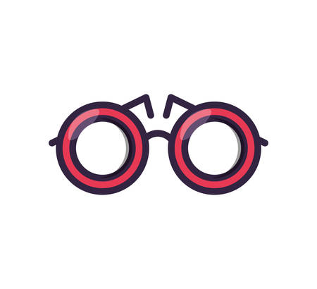optical eyeglasses isolated icon vector illustration design Ilustração