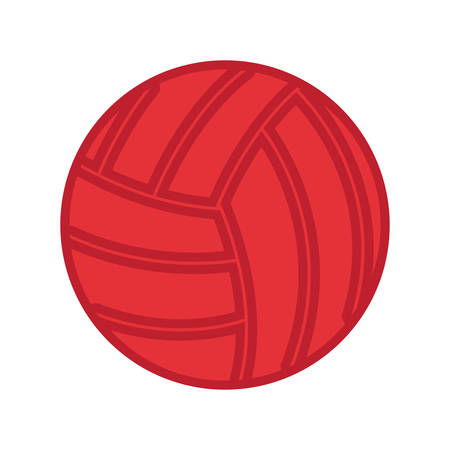 volleyball ball sport on white background vector illustration design Illustration