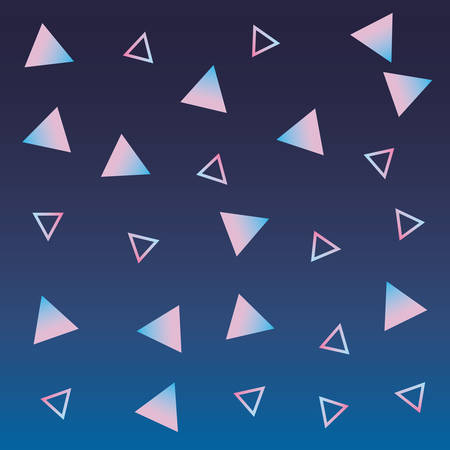 gradient background geometric abstract triangles vector illustration 일러스트