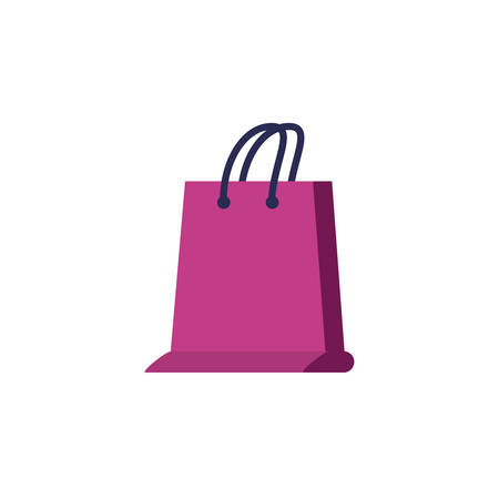 shopping bag handle isolated icon vector illustration design