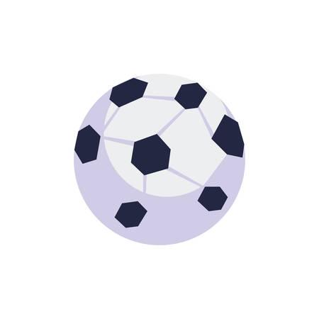 soccer balloon sport isolated icon vector illustration design Illustration