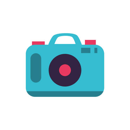 camera photographic digital device icon vector illustration design  イラスト・ベクター素材