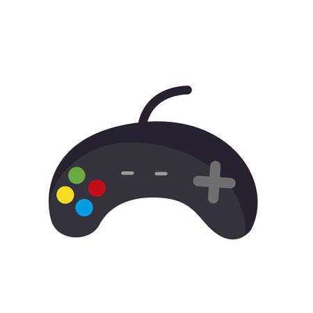 video game control accesory icon vector illustration design