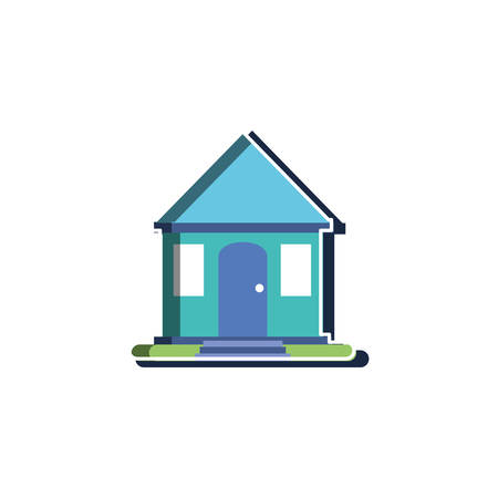 House design, Home real estate building residential architecture and property theme Vector illustration