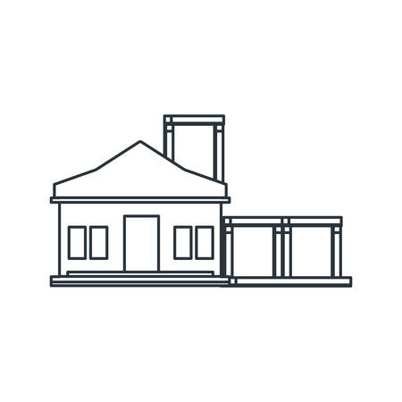 house design, under construction work repair progress reconstruction industry and build theme Vector illustration