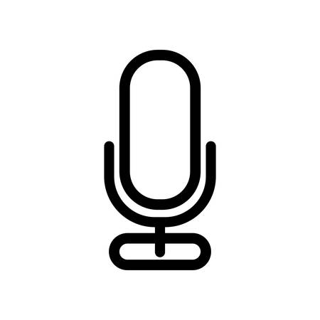 microphone record isolated icon vector illustration design Çizim