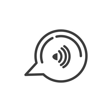 speech bubble with wifi connection vector illustration design