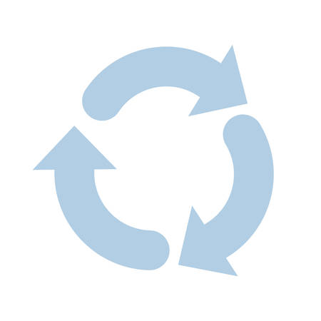 arrows around isolated icon vector illustration design Illustration